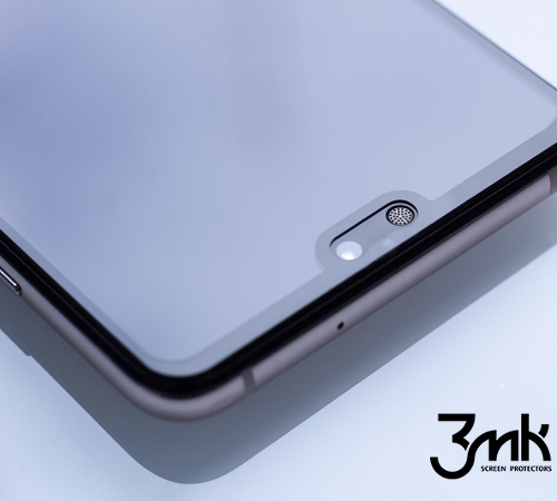 Tvrzené sklo 3mk FlexibleGlass Max pro Samsung Galaxy A6 2018, černá