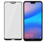 Tvrzené sklo 3mk FlexibleGlass Max pro Huawei P20 Lite, černá