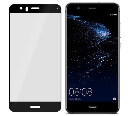 Tvrzené sklo 3mk FlexibleGlass Max pro Huawei P10 Lite, černá