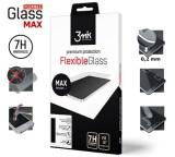 Tvrzené sklo 3mk FlexibleGlass Max pro Samsung Galaxy A71, černá