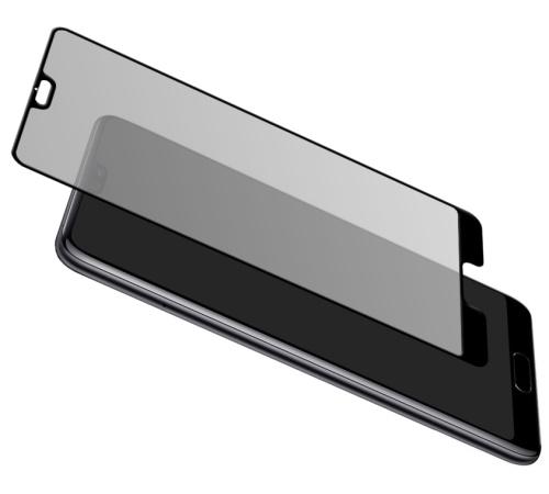 Tvrzené sklo 3mk HardGlass MAX pro Huawei P40, černá