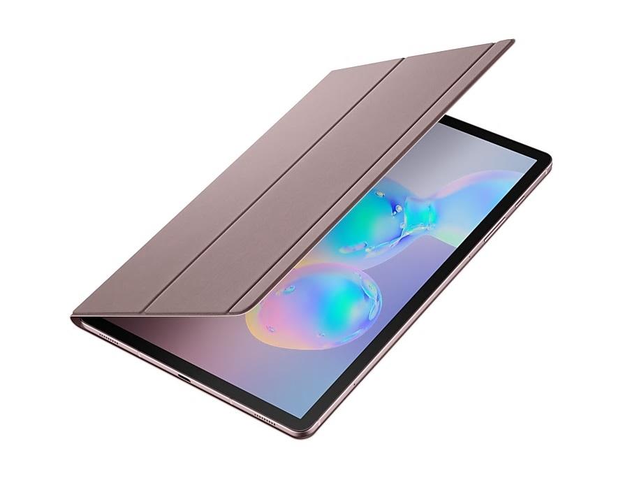 Samsung flipové pouzdro EF-BT860PAE pro Galaxy Tab S6 brown