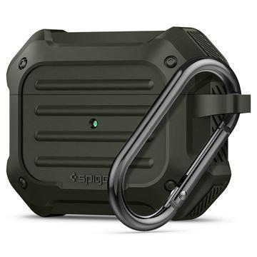 Ochranné pouzdro Spigen Tough Armor pro AirPods Pro zelené