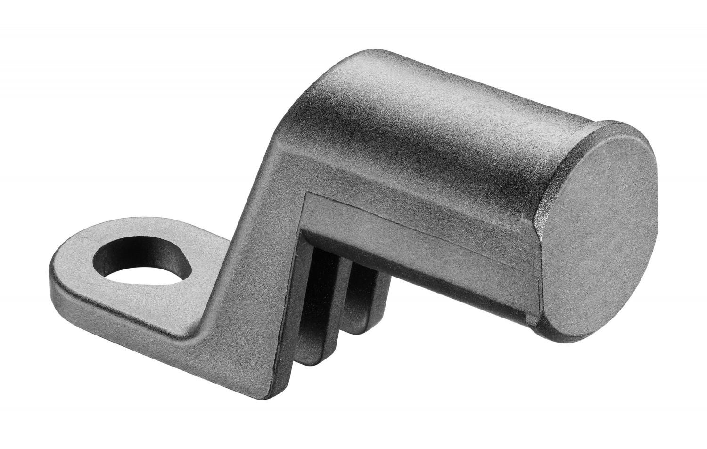 Nástavec Interphone Mirror Bracket na zrcátko motocyklu pro držáky Crab Line, černý