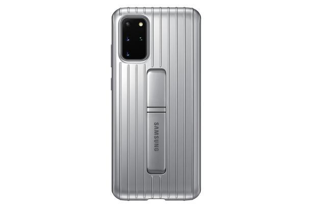 Zadní kryt Protective Standing Cover pro Samsung Galaxy S20 plus, stříbrná