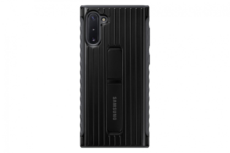Zadní kryt Protective Standing Cover pro Samsung Galaxy Note 10, černá