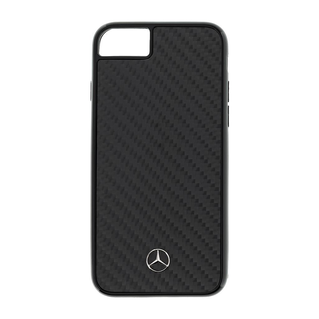 Mercedes Dynamic Carbon zadní kryt MEHCI8RCABK Apple iPhone 8/SE 2020 black