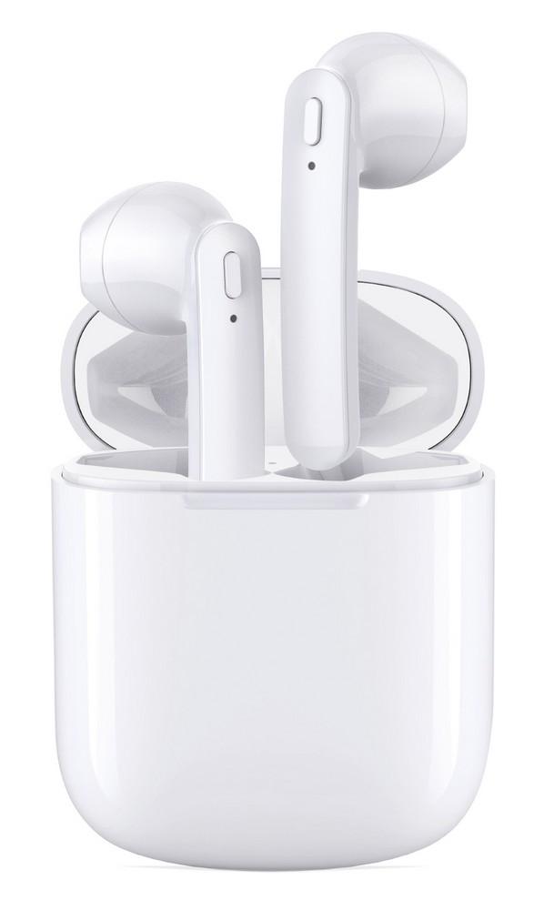 Bezdrátová bluetooth sluchátka CUBE1 Pure Sound Pro T12 bílá