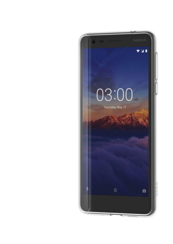 Nokia Slim Crystal silikonové pouzdro CC-108 pro Nokia 3.1