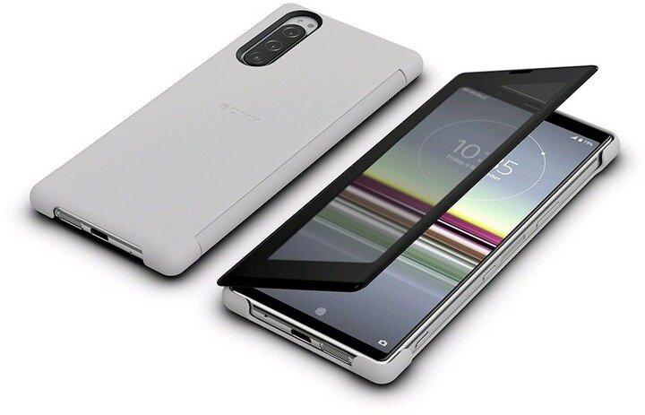 Sony Style View SCVJ10 flipové pouzdro Sony Xperia 5 grey