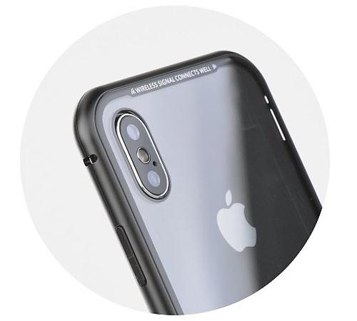 Ochranný kryt MAGNETO pro Samsung Galaxy A51, černá