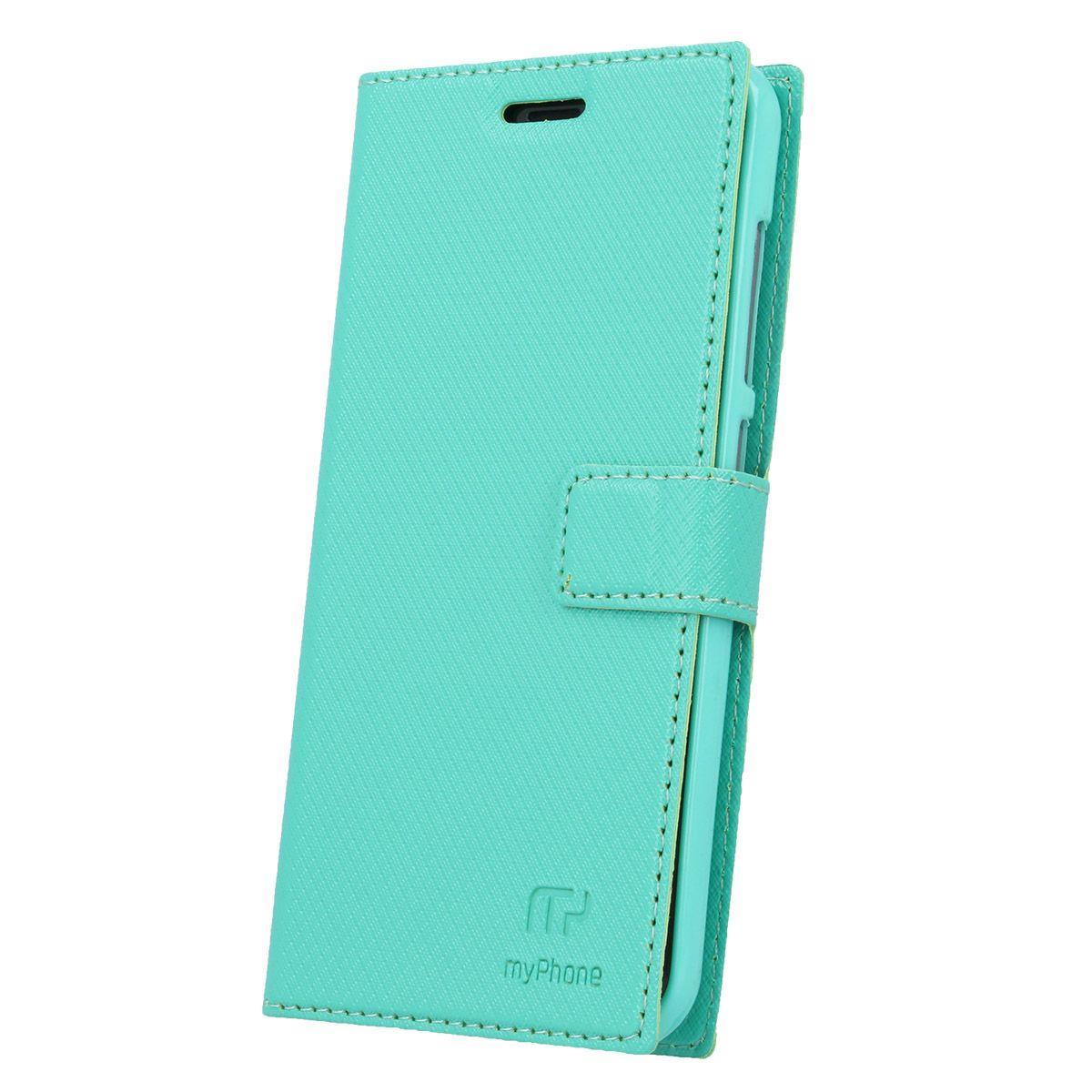 Flipové pouzdro pro myPhone Fun 6 / Fun 6 Lite, zelená