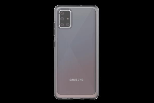 Silikonové pouzdro A Cover pro Samsung Galaxy A51, černá