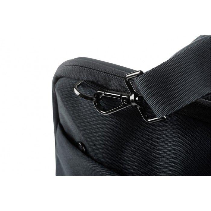 """Brašna Tucano DARKOLOR se zesílenou zadní stranou pro notebooky do 14"""", černá"""