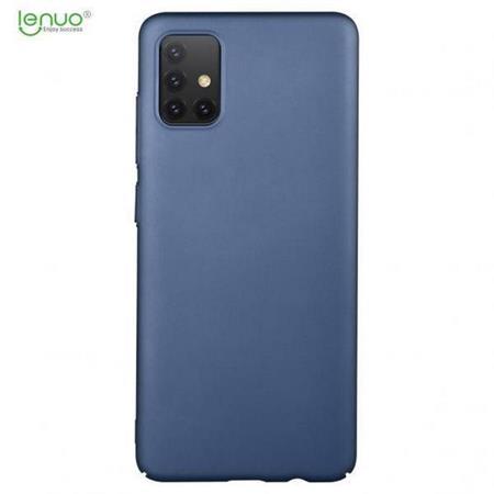 Zadní kryt Lenuo Leshield na Samsung Galaxy A51, modrá