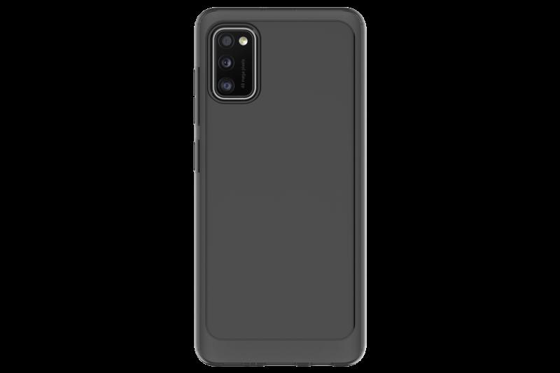 Silikonové pouzdro A Cover pro Samsung Galaxy A41, černá