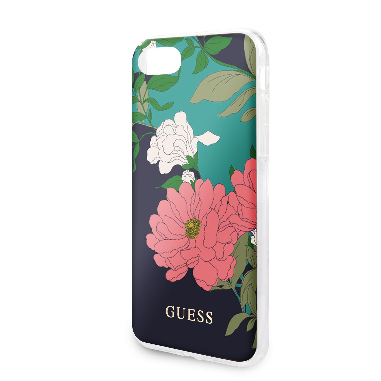 Guess Flower Edt. N.1 Zadní kryt GUHCI8PCUTRFL01 Apple iPhone 8/SE 2020 black
