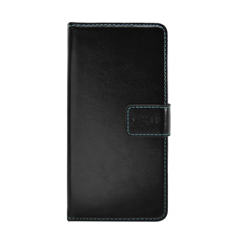 FIXED Opus flipové pouzdro pro Huawei Y5p, černé