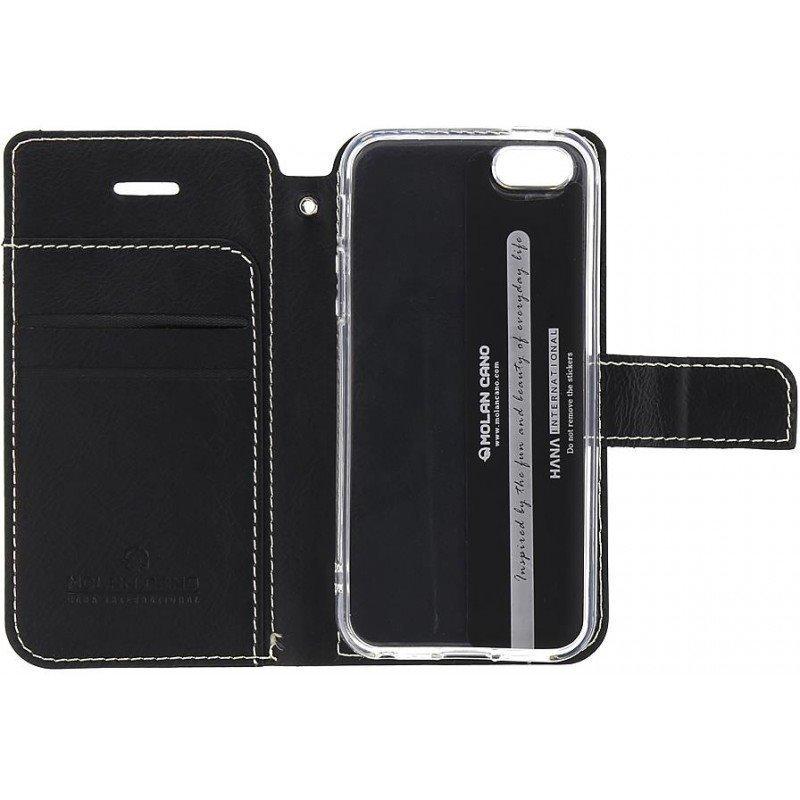 Pouzdro Molan Cano Issue pro Xiaomi Redmi Note 8T, black