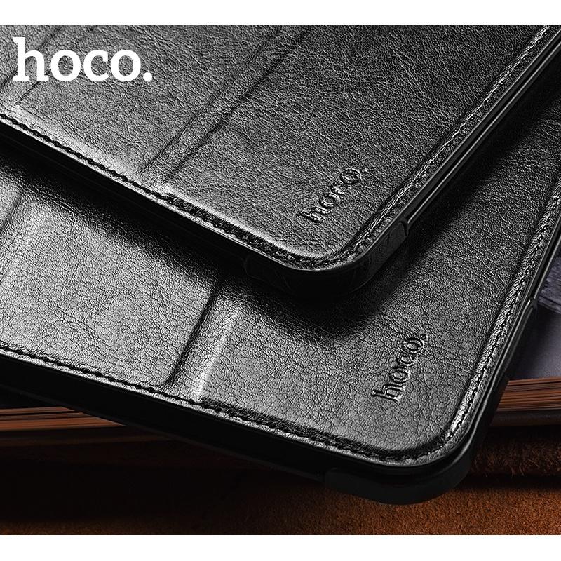 Flipové pouzdro Hoco Crystal Series protective case pro iPad Pro 11, černá