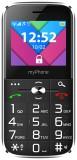 Telefon myPhone Halo C Senior černý s nabíjecím stojánkem