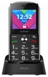 myPhone Halo C Senior černá