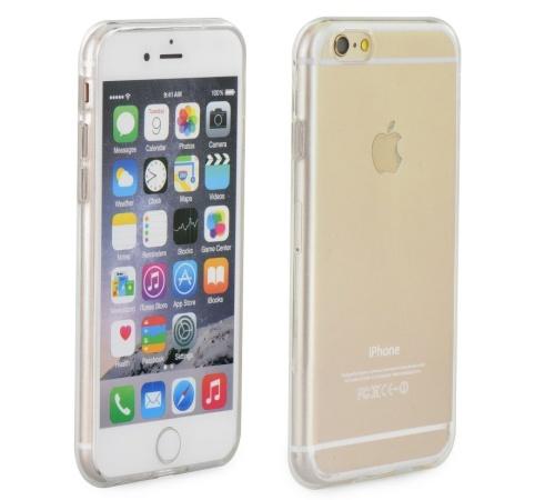 Zadní kryt Forcell Ultra Slim 0,5mm pro Apple iPhone XS, transparent