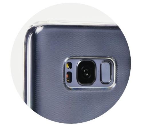 Kryt ochranný Roar pro Huawei Y6 2019, Y6 Pro 2019, transparent