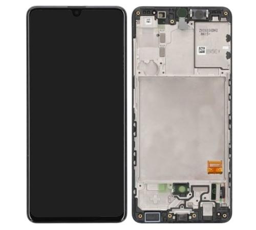 LCD + dotyková deska pro Samsung Galaxy A41, black