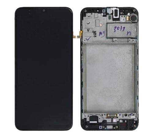 LCD + dotyková deska pro Samsung Galaxy A21s, black
