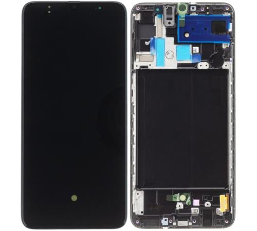 LCD + dotyková deska pro Samsung Galaxy A70, black