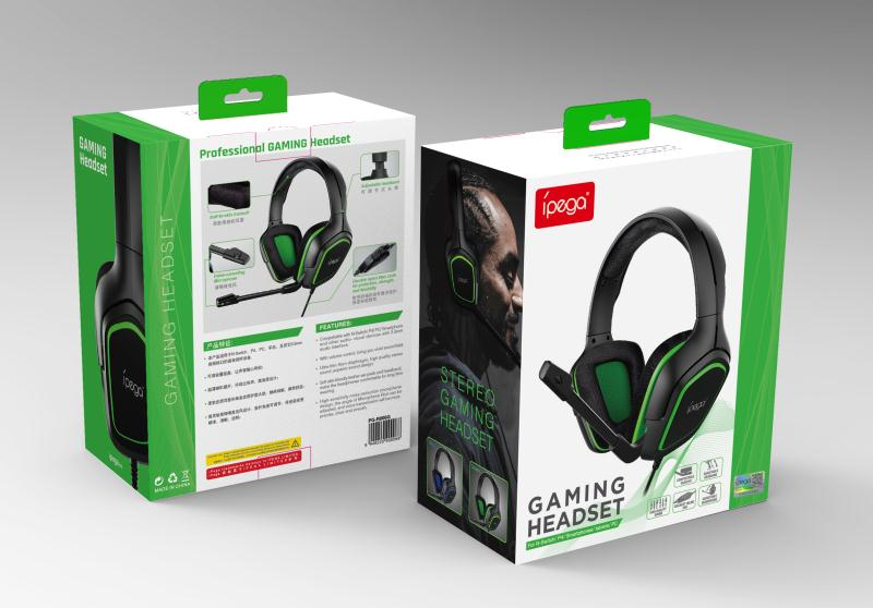 iPega PG-R006 Gaming Headset s Mikrofonem Green (EU Blister)