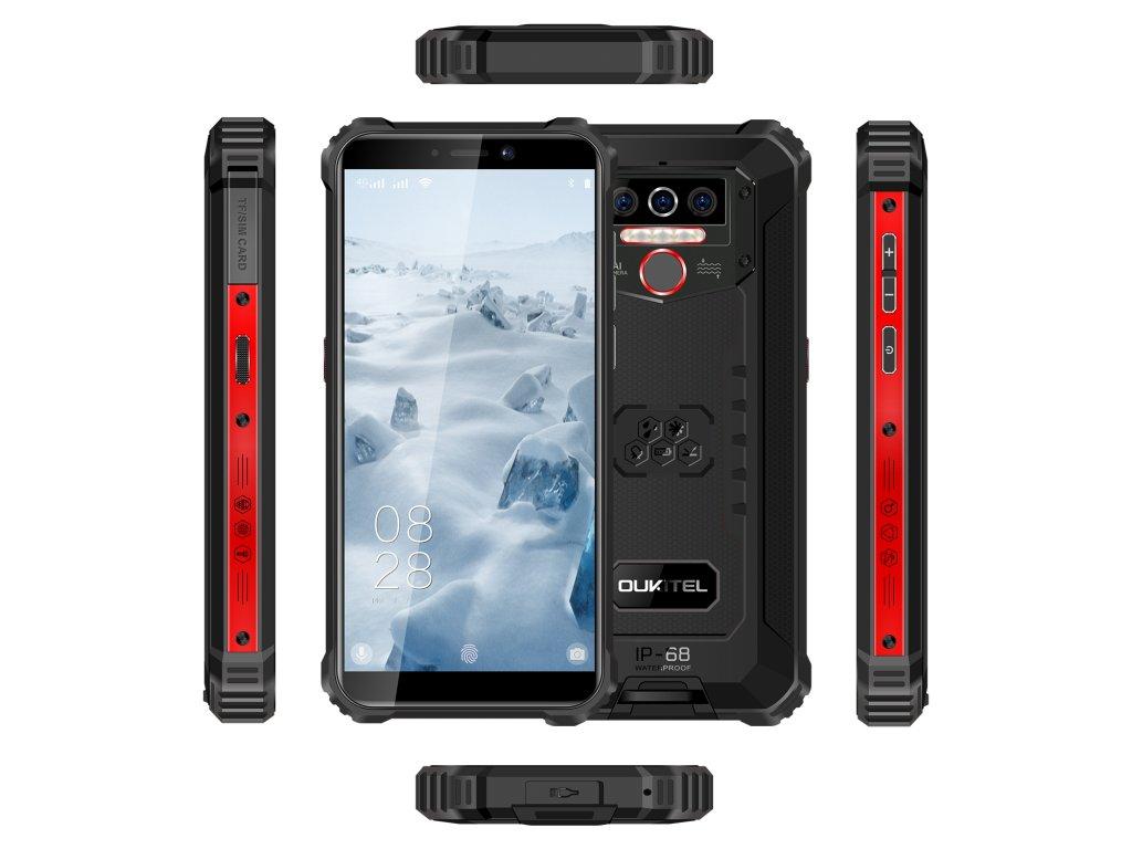 Oukitel WP5 4GB/32GB červená