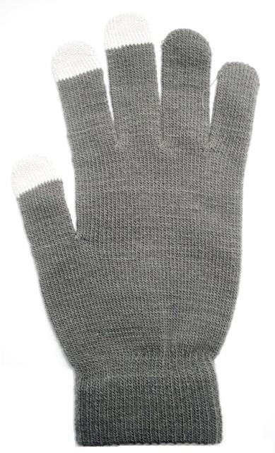 Rukavice na dotykový displej grey