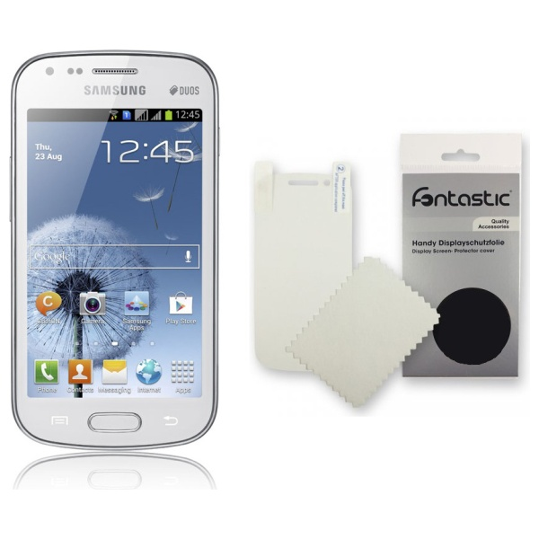 Screen protector Fontastic pro Samsung Galaxy Ace Duos S6802, 2 ks v balení, lesklý