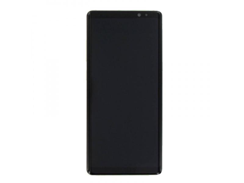 LCD + dotyk + rámeček pro Samsung Galaxy Note 8, gold (Service Pack)
