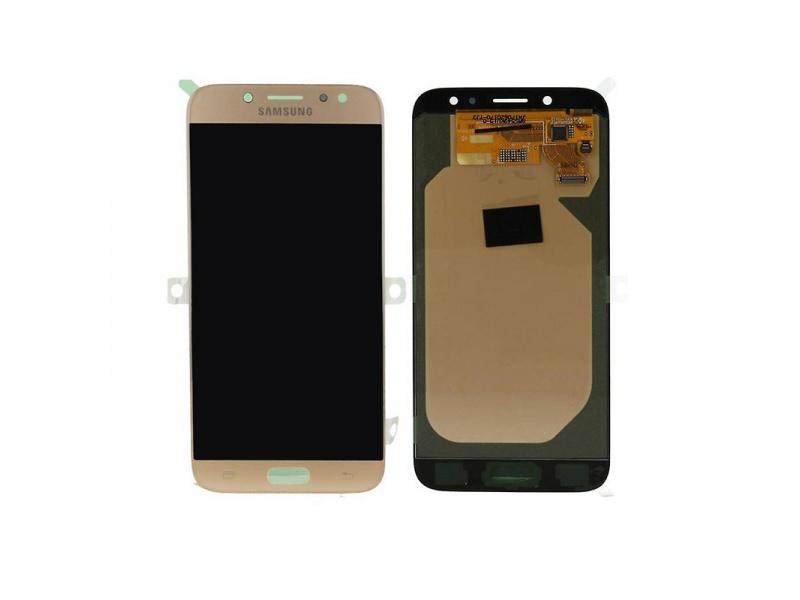 LCD + dotyk pro Samsung Galaxy J7 2017, gold ( Service Pack )