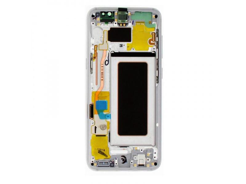 LCD + dotyk + rámeček pro Samsung Galaxy S8, silver (Service Pack)