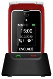 Evolveo EasyPhone FG s nabíjecím stojánkem, červená