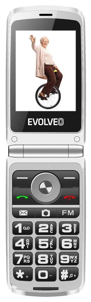 Evolveo EasyPhone FG s nabíjecím stojánkem, černá