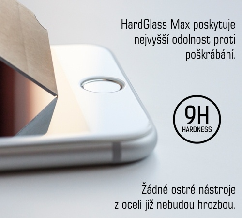 Tvrzené sklo 3mk HardGlass MAX pro Samsung Galaxy Note20, černá