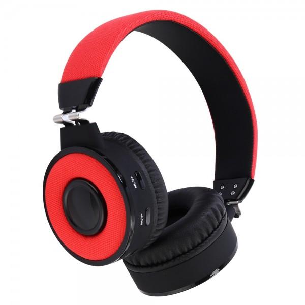 Bluetooth sluchátka Aligator AH01 červená