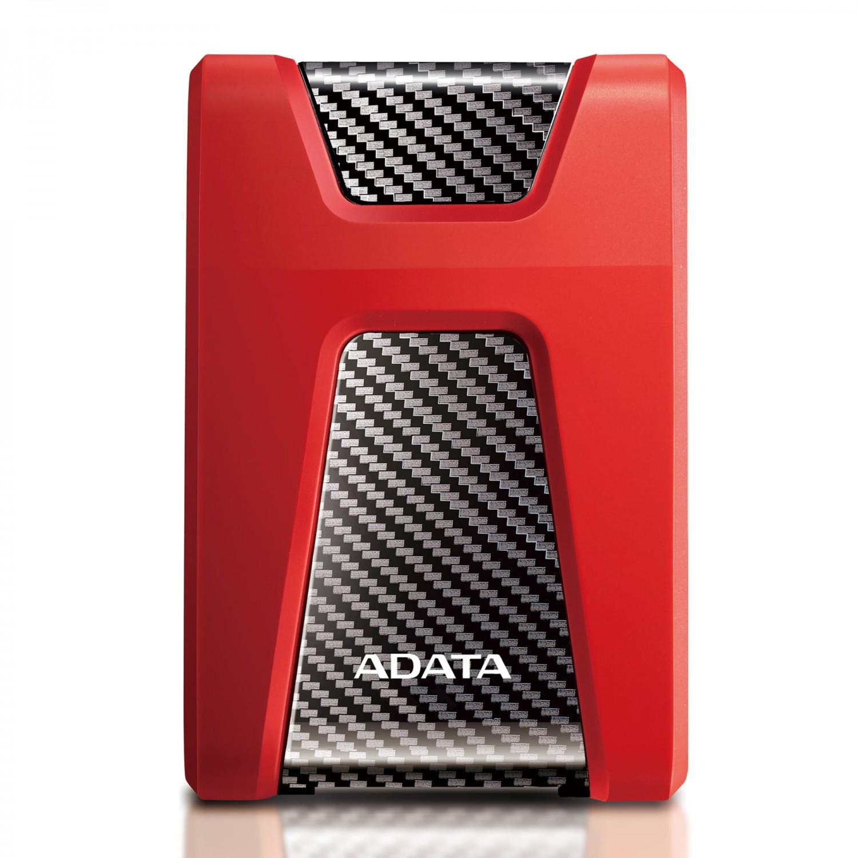 "ADATA HD650 2TB 2.5"" HDD USB 3.1, červená"