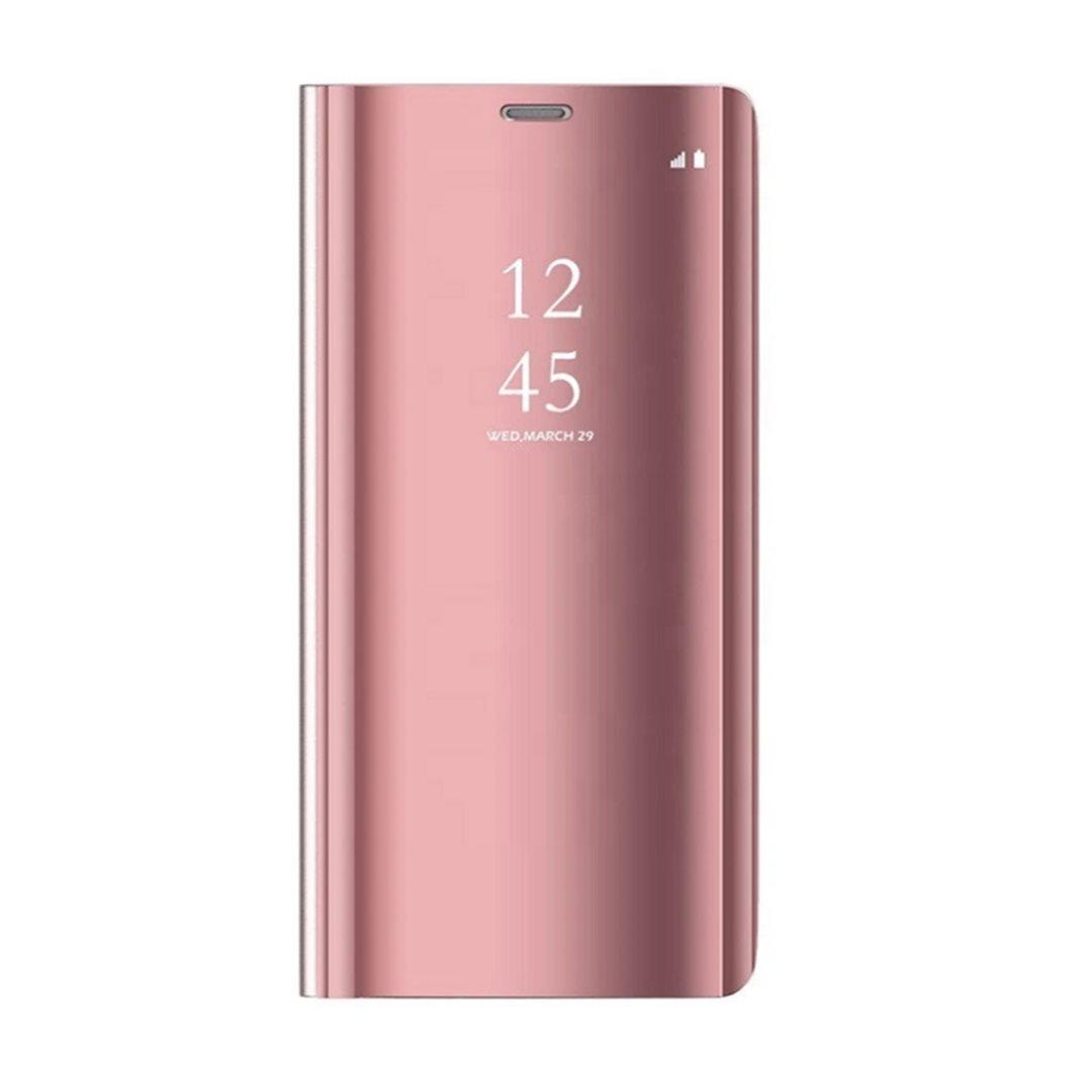 Cu-Be Clear View flipové pouzdro Huawei Y6P pink