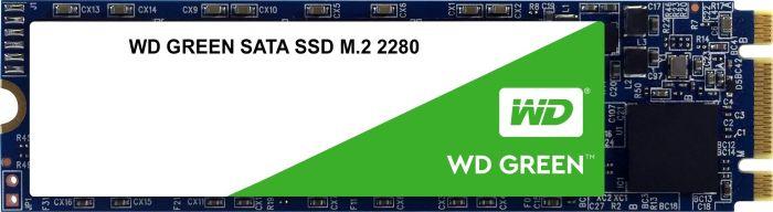 WD GREEN SSD 3D NAND 480GB M.2, (R:540, W:465MB/s)