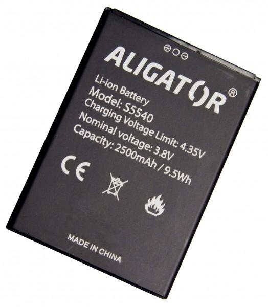 Baterie ALIGATOR S5540 Duo, Li-Ion 2500mAh, originální