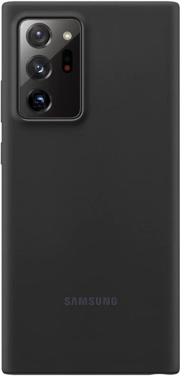 Silikonové pouzdro Silicone Cover EF-PN980TBEGEU pro Samsung Galaxy Note20, černá