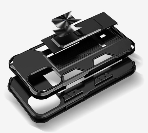 Odolný kryt Forcell DEFENDER pro Samsung Galaxy A21s, černá