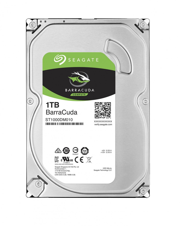 "Seagate BarraCuda 1TB HDD, 3,5"", SATAIII, ST1000DM010"