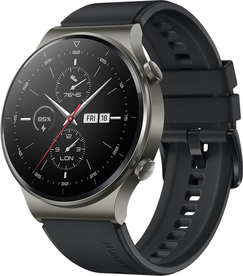 Huawei Watch GT 2 Pro, Night Black